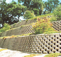 Green Building Products Pavers And Retaining Walls In